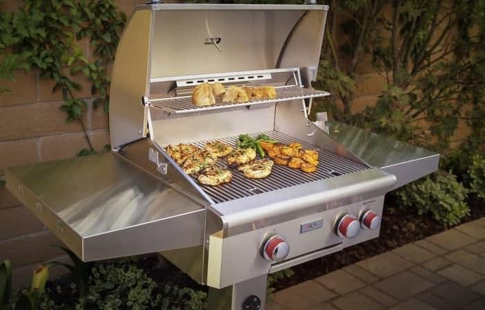 grilling setup