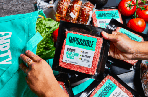Impossible Burger Meat Substitute