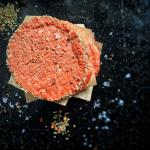 Plant based meat patties