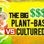 plant based vs cultured meat