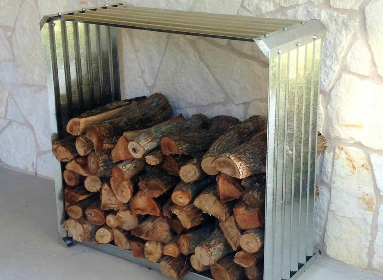 Corrugated Iron Open Box