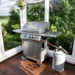Gas Grill on Wood Deck Safety Tips
