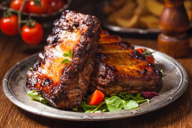 Slow Cooked Baby Back Ribs