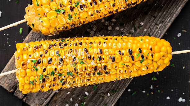 Sweet and Crunchy Grilled Corn