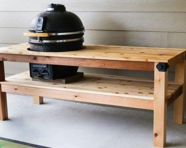 DIY Grill Table