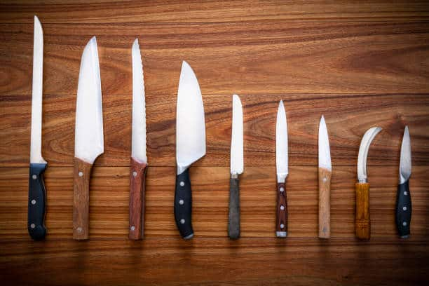 Kitchen knifes