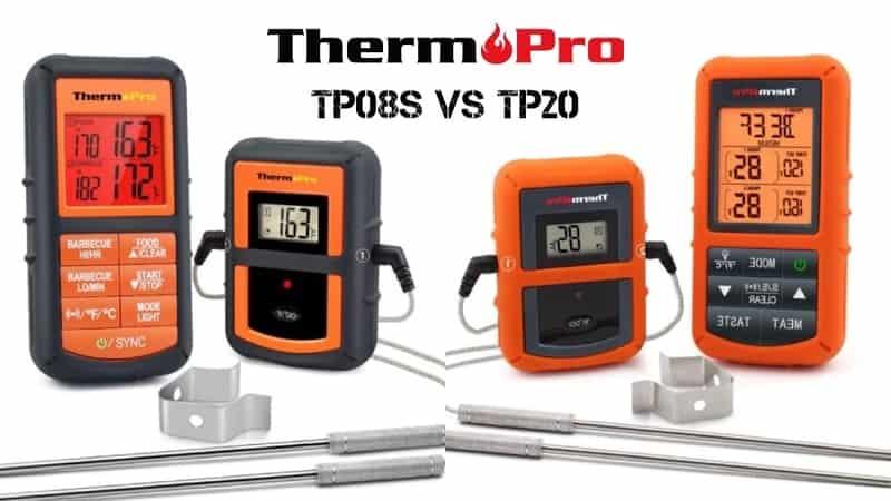 thermopro tp08s vs tp20